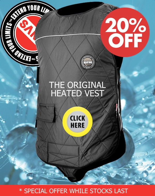 SANTI Heated Vest Special Offer
